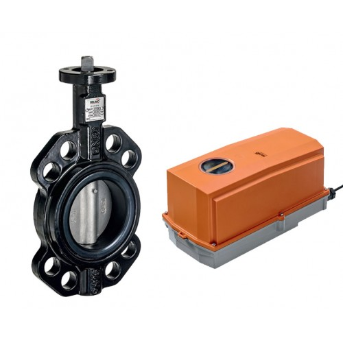 Belimo D6 series wafer type butterfly valve with GRC/DRC series actuator