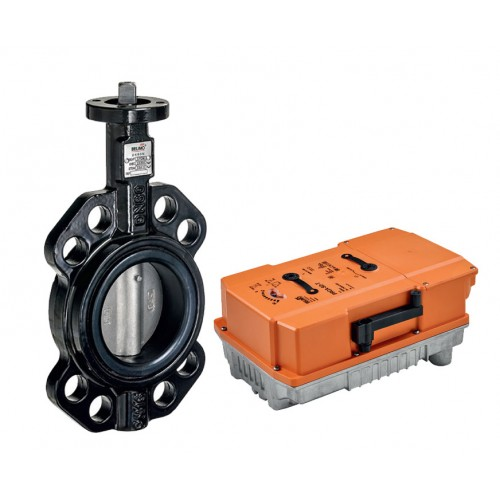 Belimo D6 series wafer type butterfly valve with PRCA series actuator