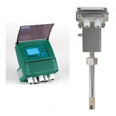 Isoil MS3780 Insertion sensor for electromagnetic flow meter with MV110 Converter with display